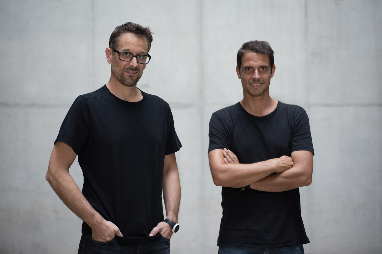 fundadores del estudio de diseño industrial Discoh José Miguel Abarca Fernández Francisco Gaspar Quevedo