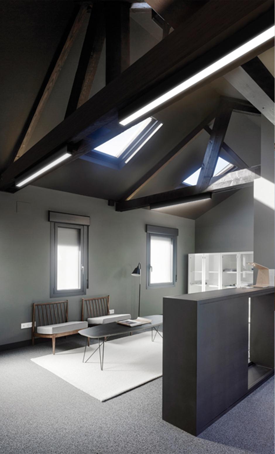 Desarrollo tecnico de perfileria empotrada de la agencia discoh design para arkoslight iluminacion