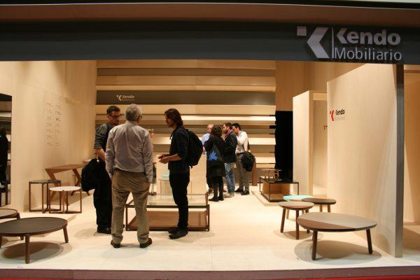 Kiko Gaspar miguel abarca discoh design junto mesitas zoe y tab kendo salone mobile milano 2013