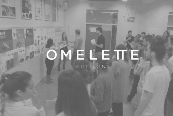 Omelette Editions tutorizando algunos proyectos de los alumnos de la mención de diseño para el ocio y hábitat en la Universitat Politècnica de València