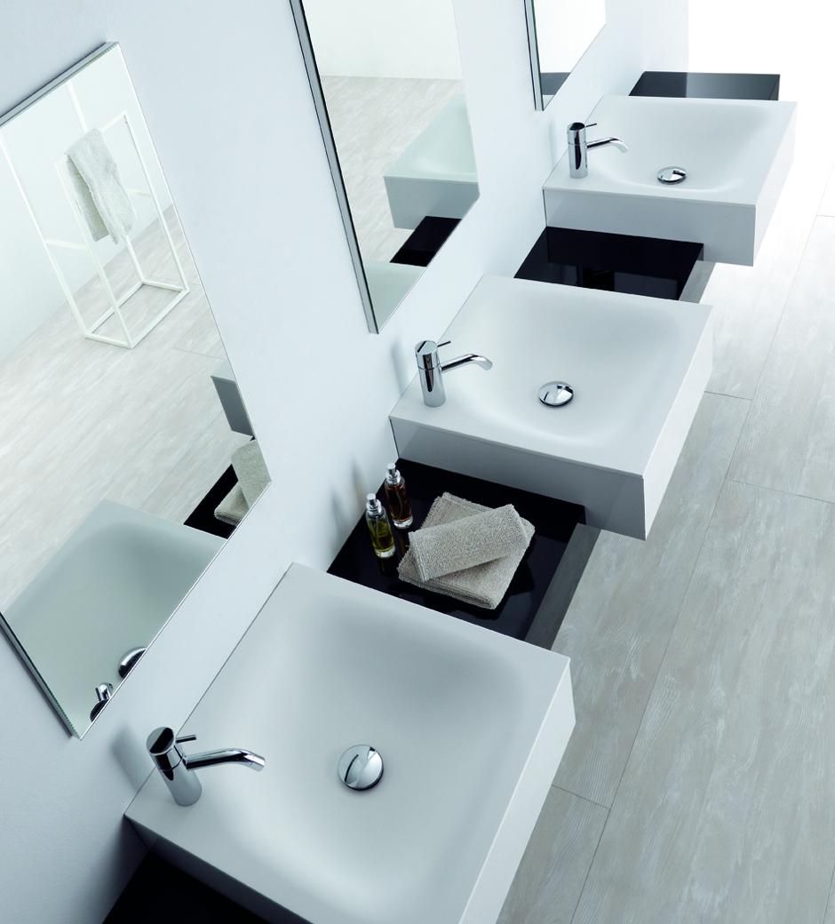 Mobiliario de baño modular OLA para hoteles restaurantes y contract de discoh design