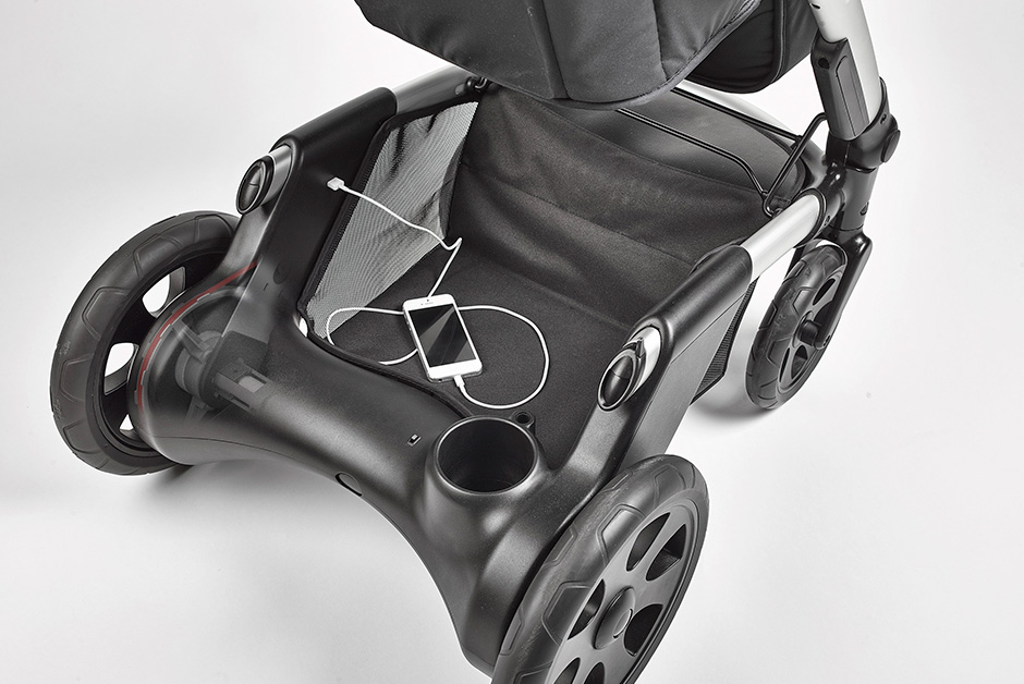 Cochecito de bebés Mayfair diseñado para la empresa Heetee