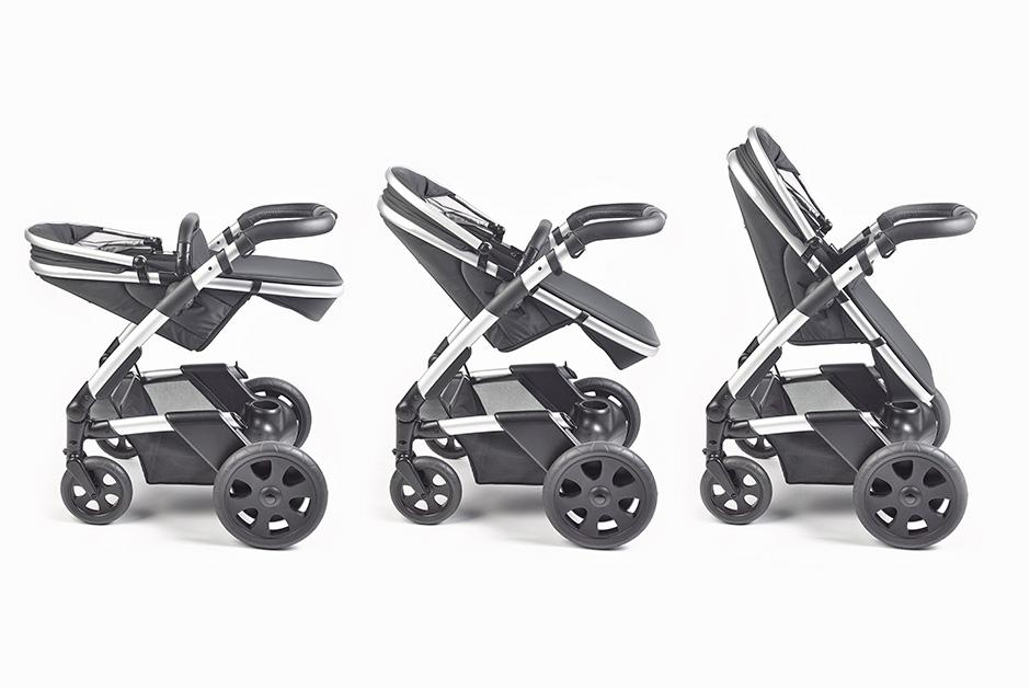 Sistema abatible de la silla del cochecito de bebés de Heetee